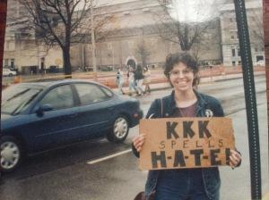 Anti-KKK rally
