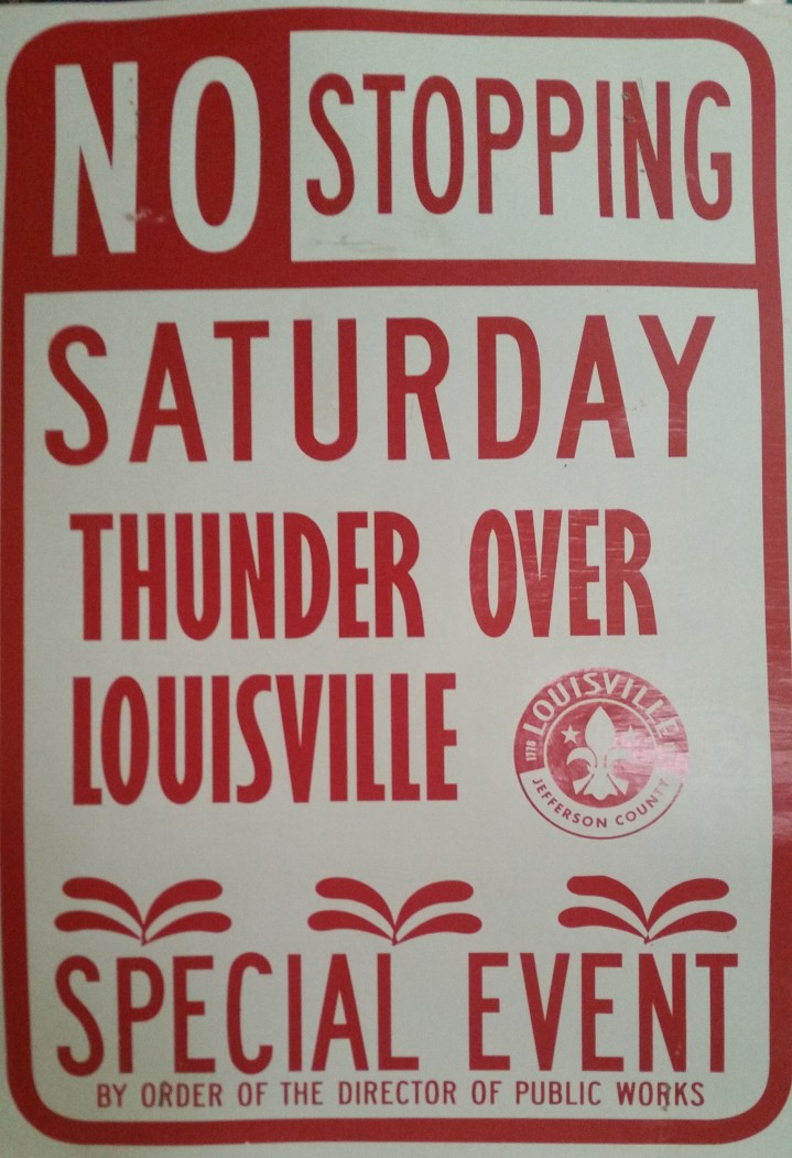 No Stopping Saturday