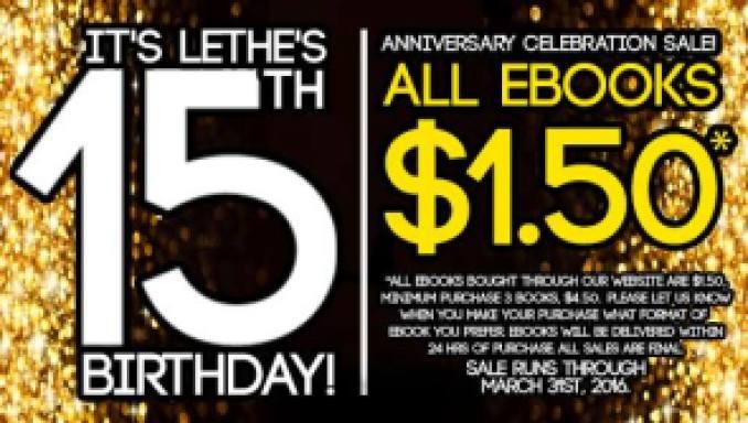 Lethe Press 15th Birthday sale a218cfee-8a91-4239-b9c6-5fb790eae8c1